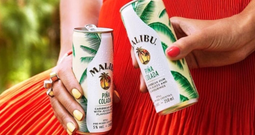Malibu releases pre-mixed pina coladas because you deserve it this summer photo