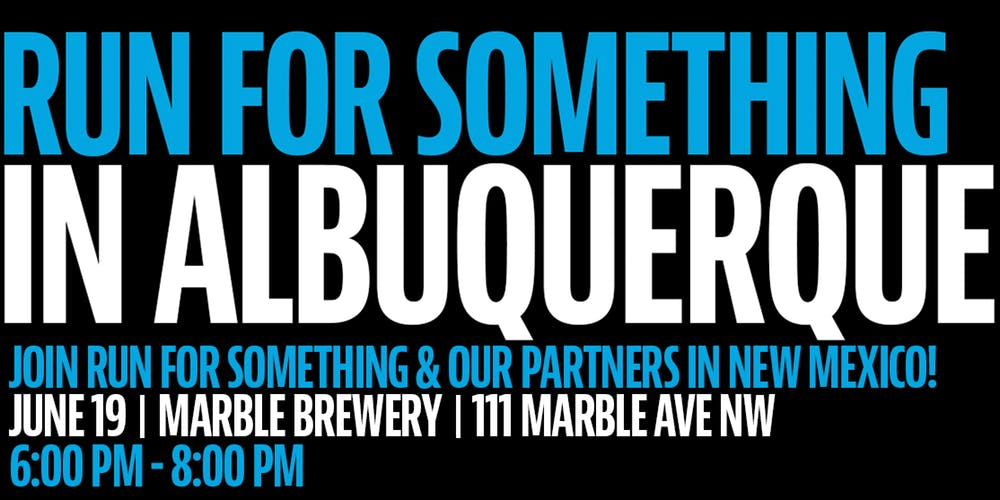 Run For Something In Albuquerque At Marble Brewery, Albuquerque photo