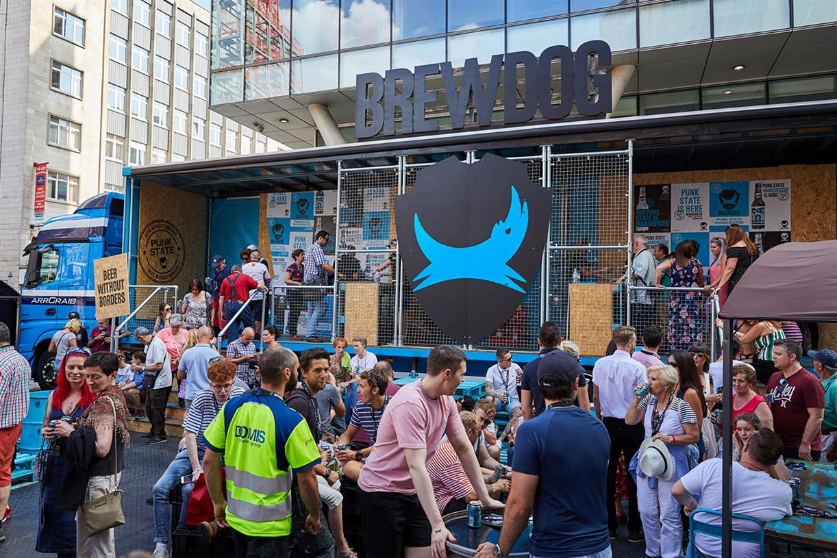 Brewdog Takes 'punk State' Experience On European Tour photo
