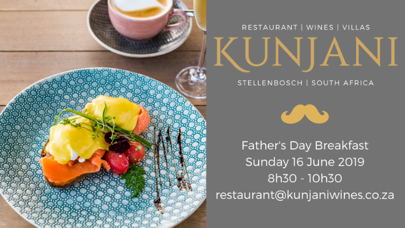 Fathers Day Breakfast Father's Day Culinary Escape to Kunjani