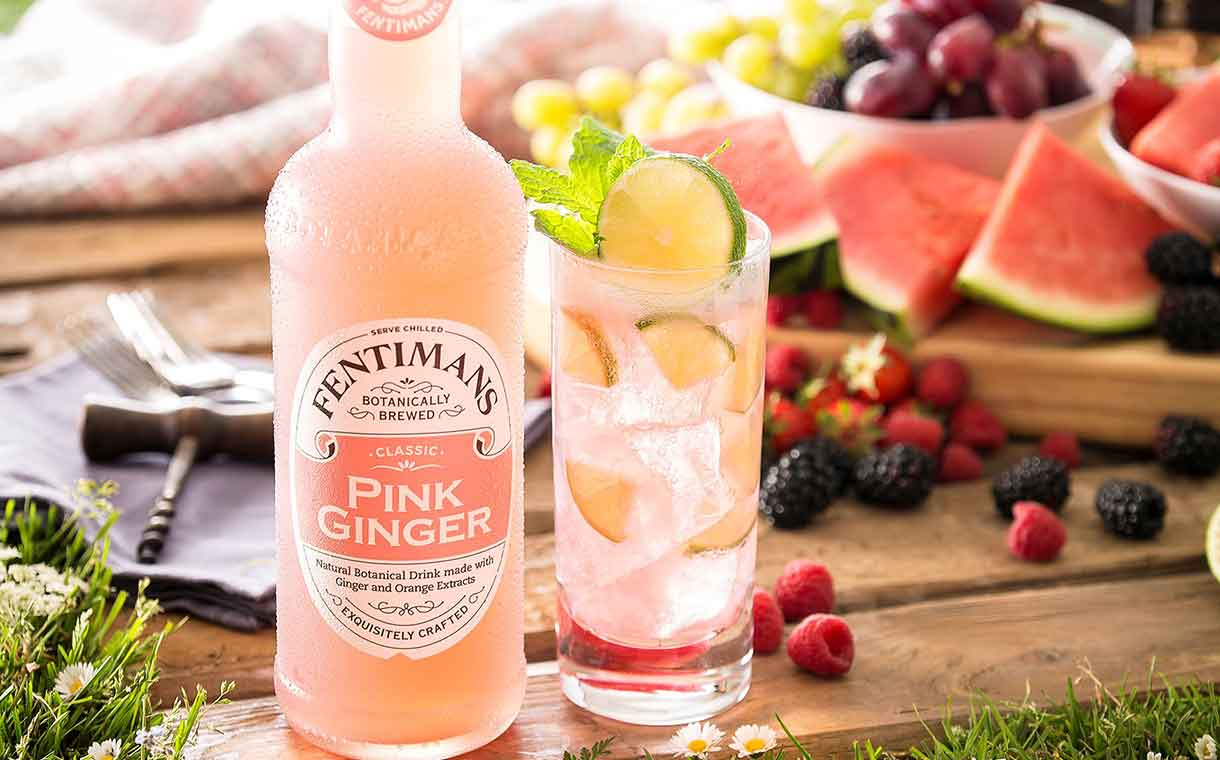 Fentimans Introduces Pink Ginger Drink As Ginger Beer Alternative photo