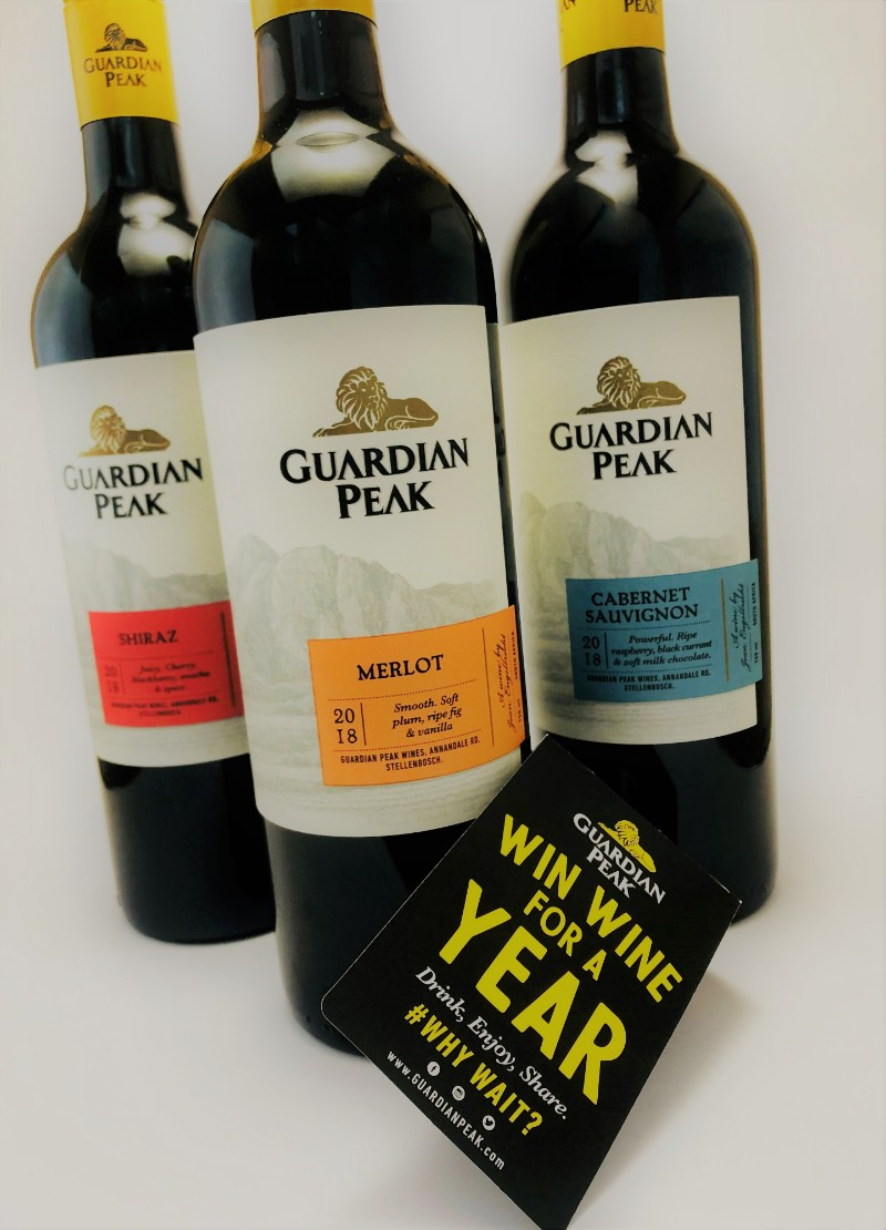 Win Wine For A Year With Guardian Peak #WhyWAIT photo