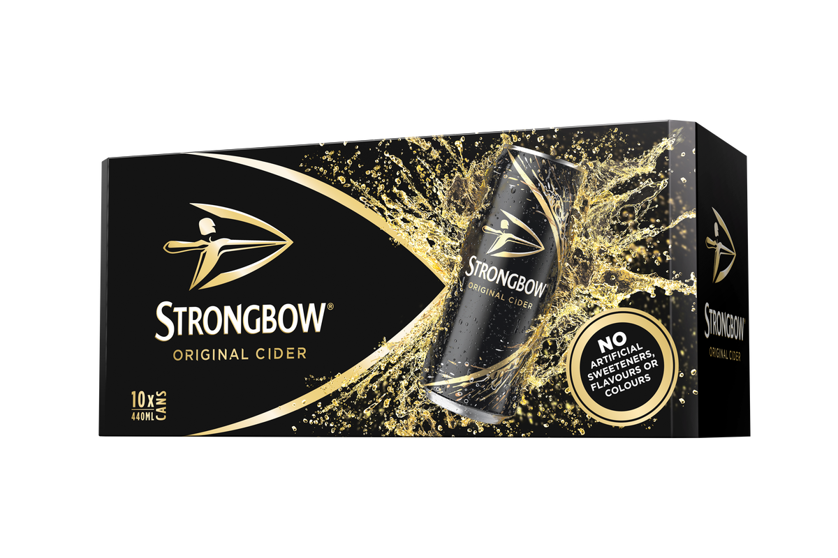 Strongbow Has Completely Changed Its Cider Recipe To Remove Artificial Sweeteners, Colours And Flavours photo