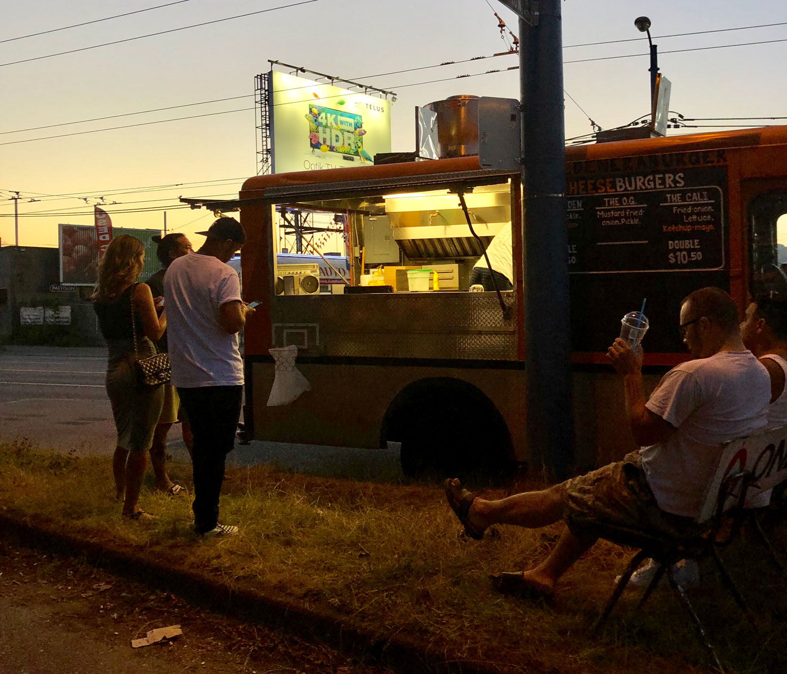 On Vancouver's Food Truck Bonanza And Meatless Burgers Being A Satanic Plot photo