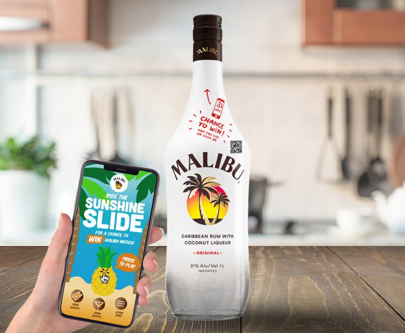"Malibu Rum Unveils ""connected Bottle"" With New Nfc Technology photo"