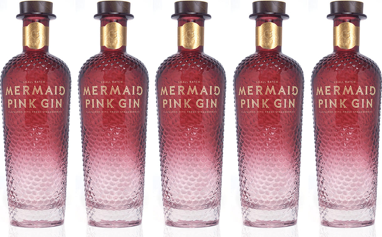 Isle Of Wight Distillery Launches Strawberry-flavoured Pink Gin photo