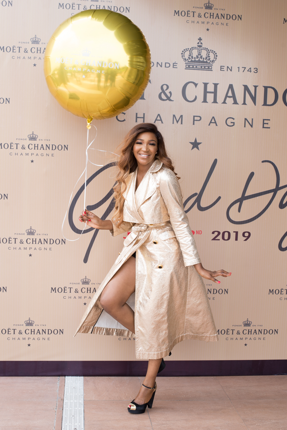 See All That Happened At #moetgrandday With Your Faves photo