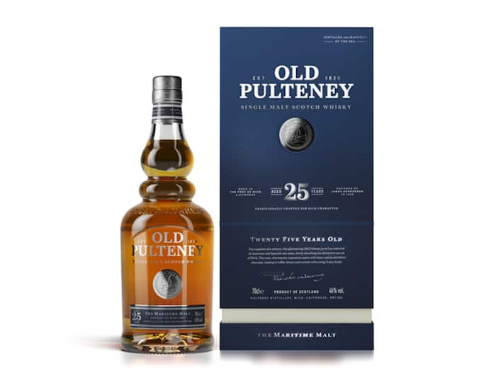 Old Pulteney Adds A 25 Year Old Scotch Whisky To Its Core Line Up photo