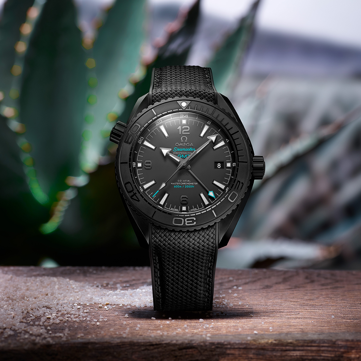 "Ticking Tequila: Omega Seamaster Planet Ocean ""deep Black"" Casamigos photo"