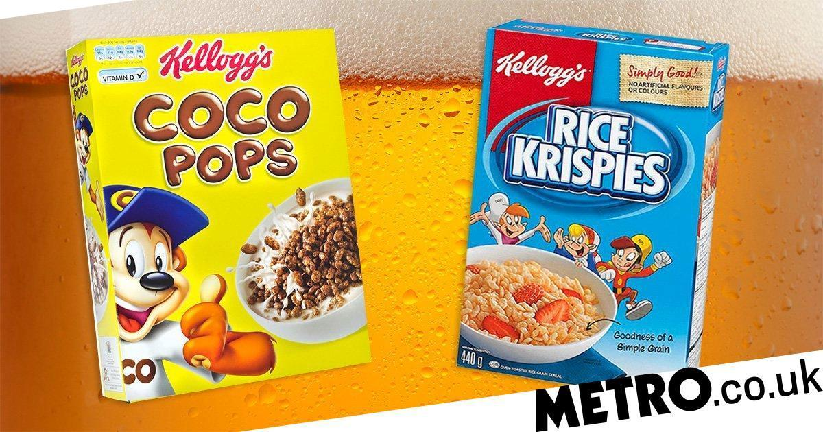 Kellogg's Is Launching Two New Beers Made From Rice Krispies And Coco Pops Waste photo