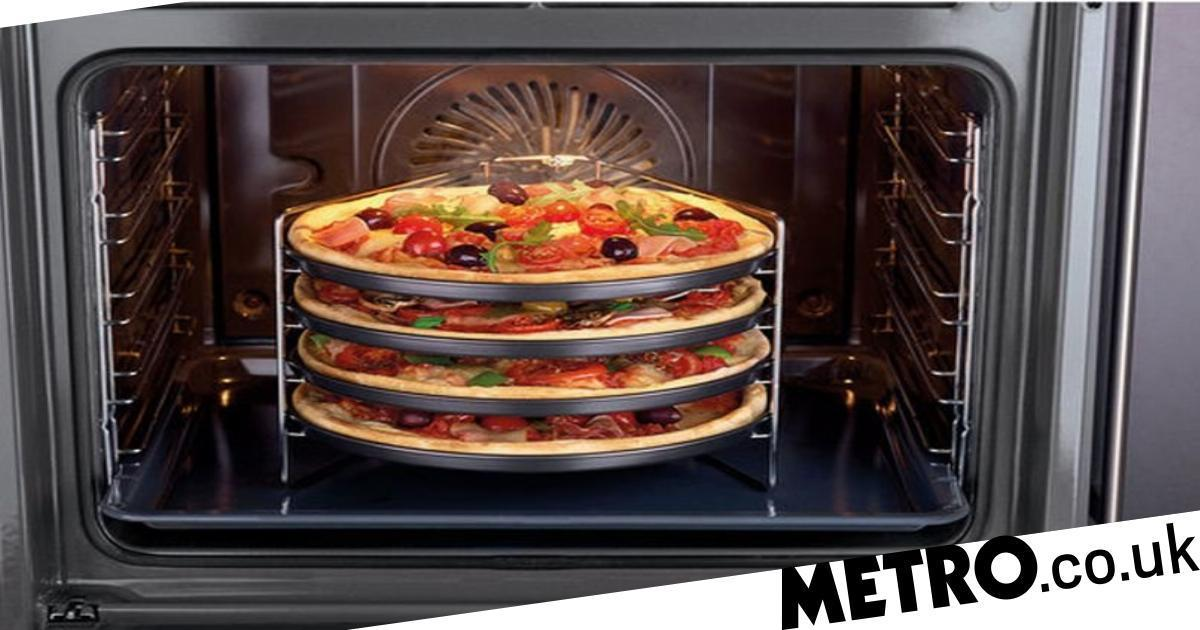 Lidl Is Selling A Genius Tray That Lets You Cook Four Pizzas At Once photo