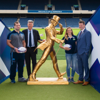 Johnnie Walker And Scottish Rugby Announce Three-year Partnership photo