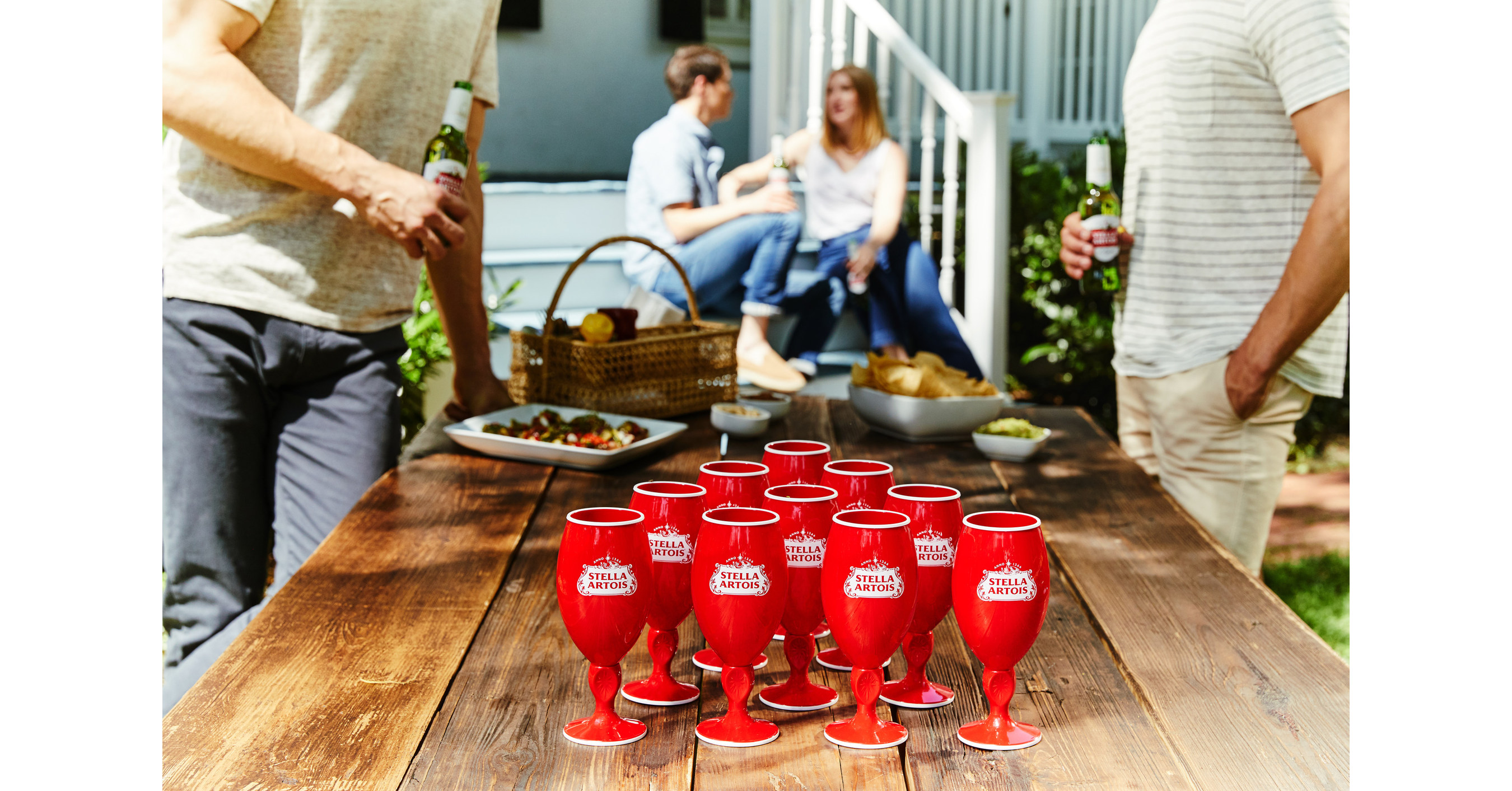 "Stella Artois Is Making The Red Party Cup A Little More Stylish This Summer With The Release Of Its ""red Stella Cup"" photo"