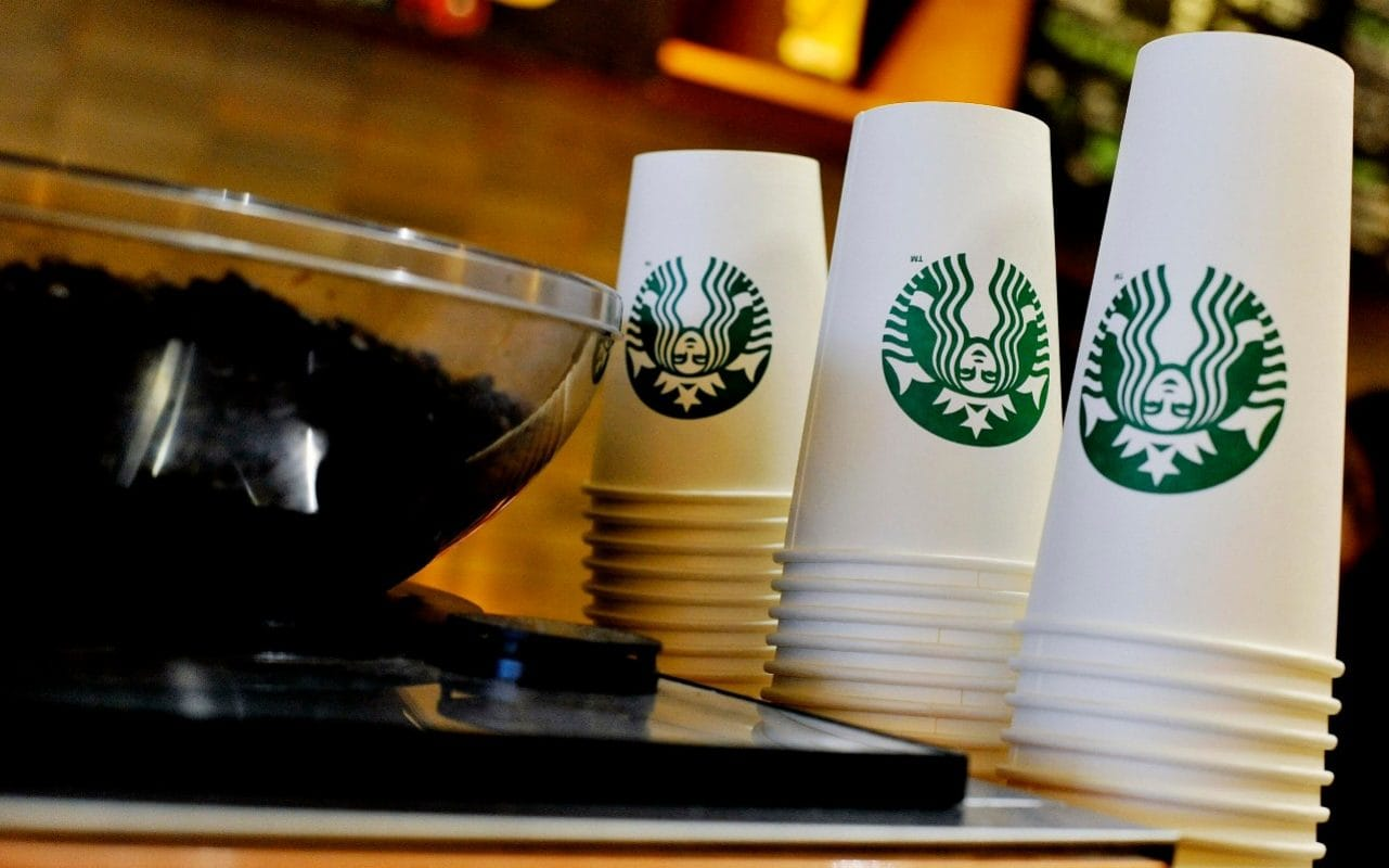 High Street Slump Wipes Out Starbucks' Profits photo