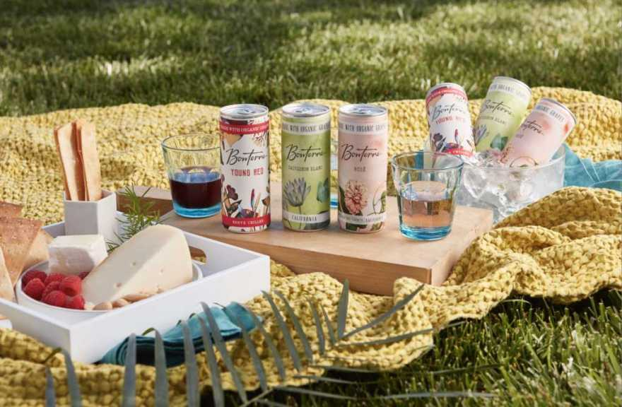 Bonterra Organic Vineyards Launches Organically Farmed Wine In Cans photo