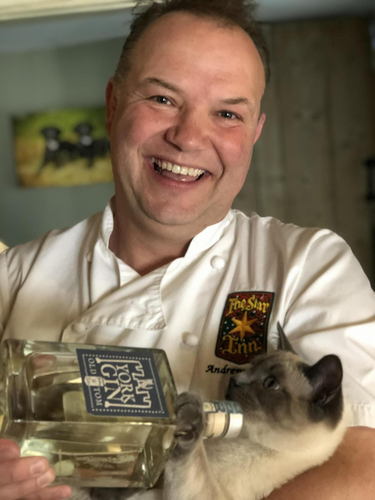 chef cat New cat inspired Gin launched with help of top chef