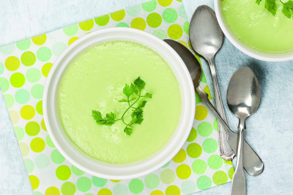 The Perfect Chilled Avocado And Cucumber Soup For Hot Summer Days photo