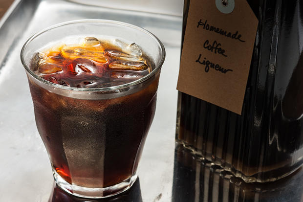 How to make Coffee Liqueur with Instant Coffee photo