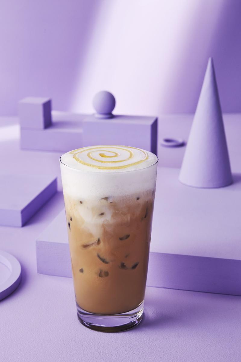 Starbucks New Honeycomb Lavender Latte Will Satisfy Your Inner Winnie The Pooh photo