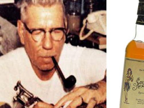 "Widow Of Tattooist Sailor Jerry Sues Whisky Giants William Grant For ""cashing In"" On Her Husband's Legacy photo"