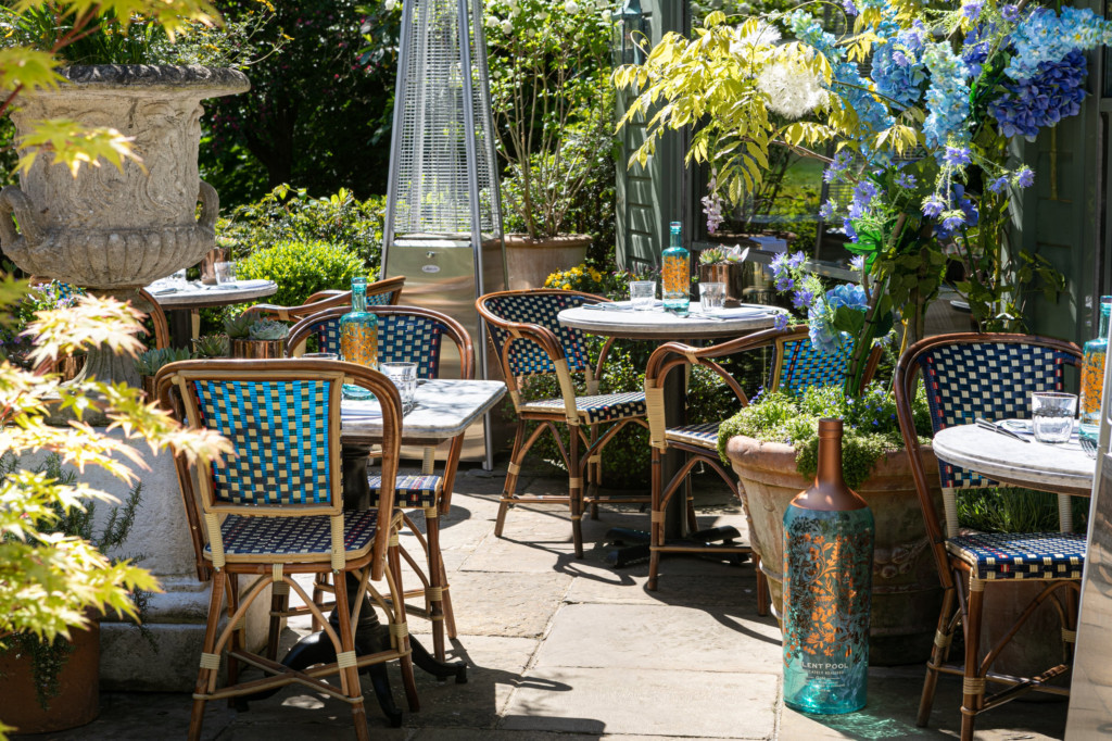 The Ivy Cobham Brasserie Launches Summer Terrace In Collaboration With Silent Pool photo