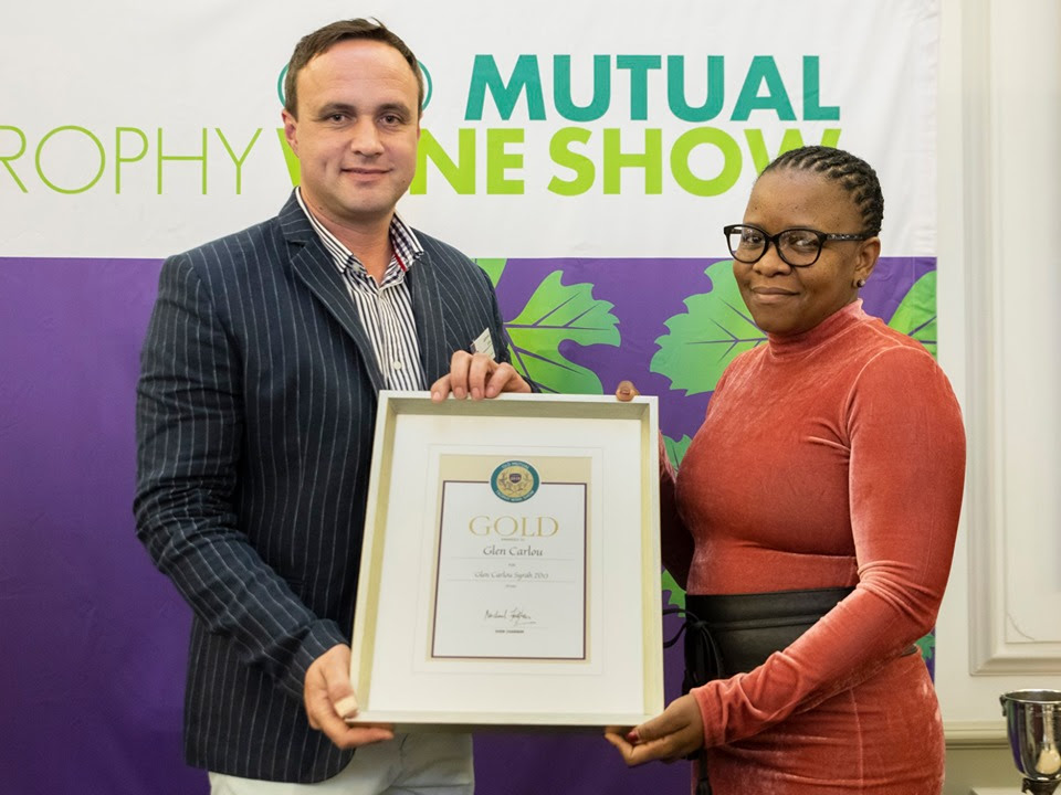 Gold for Glen Carlou at Old Mutual Trophy Wine Show photo