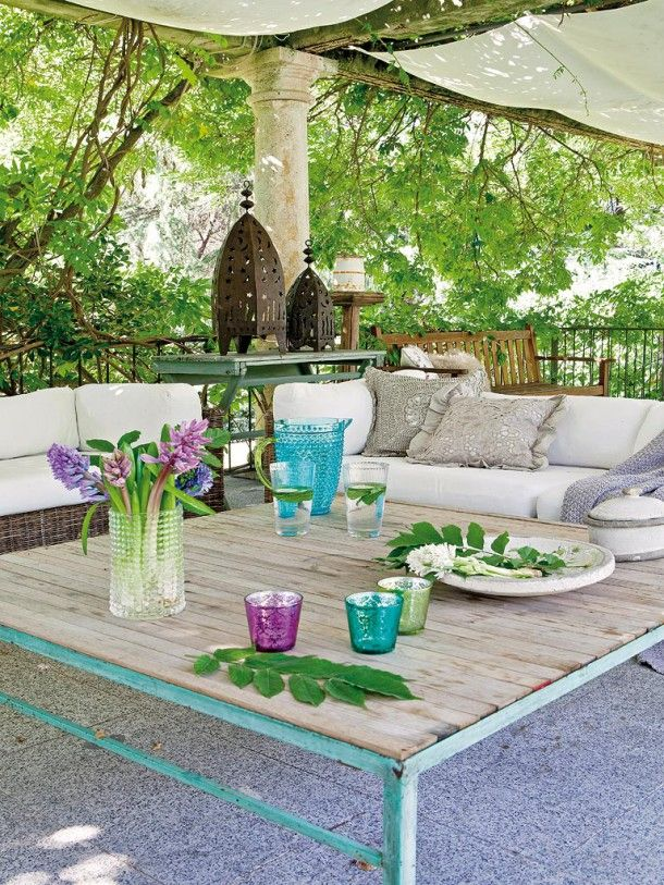 patio living Designing The Perfect Outdoor Dining Environment