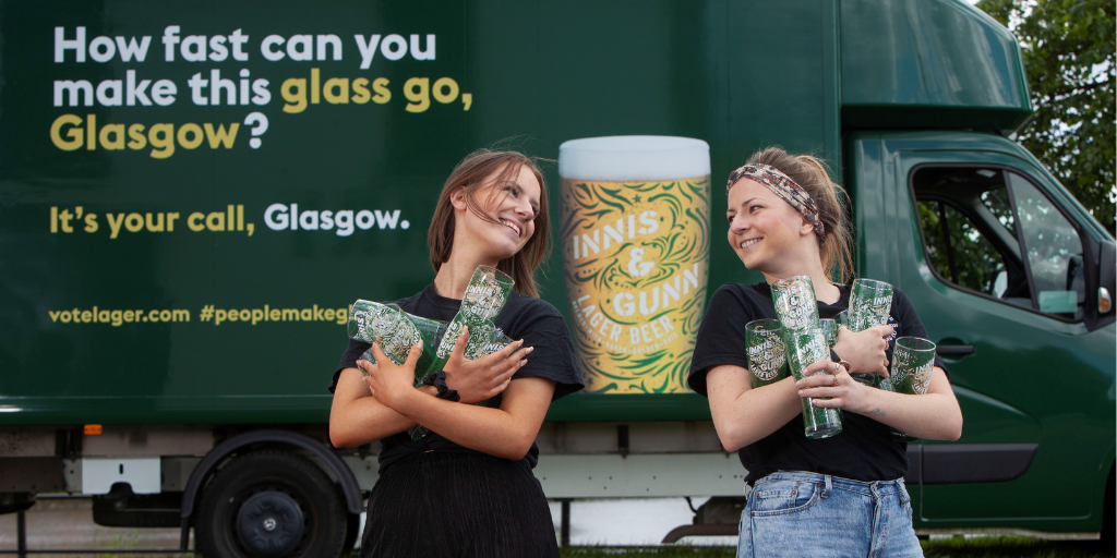 Innis & Gunn, Fed Up With Beer Glass Theft, Invites Fans To Fill Their Pockets photo