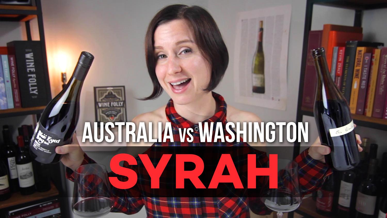 Washington Vs Australian Syrah Wine (video) photo
