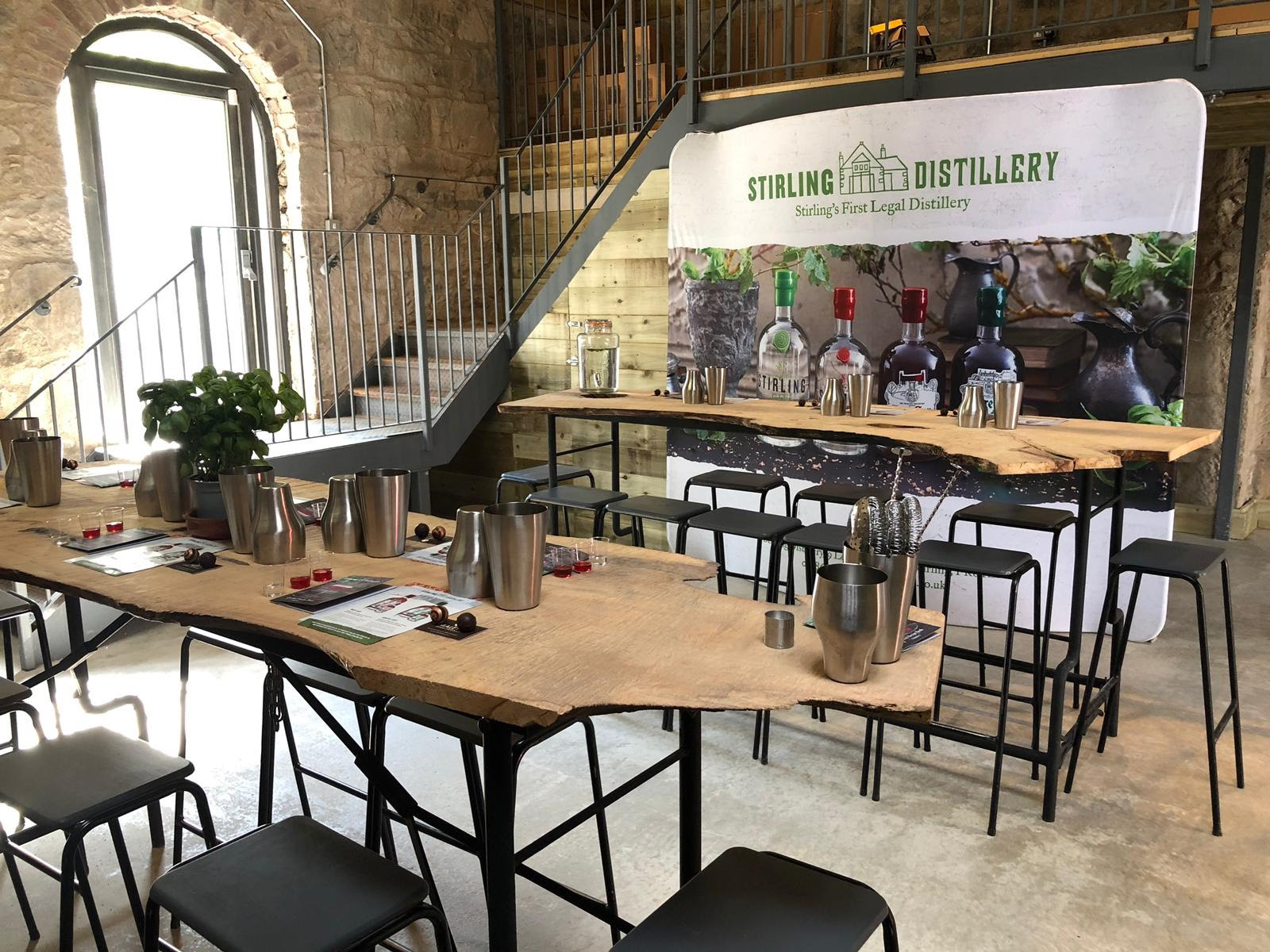Stirling Gin Distillery Opens Its Doors. photo