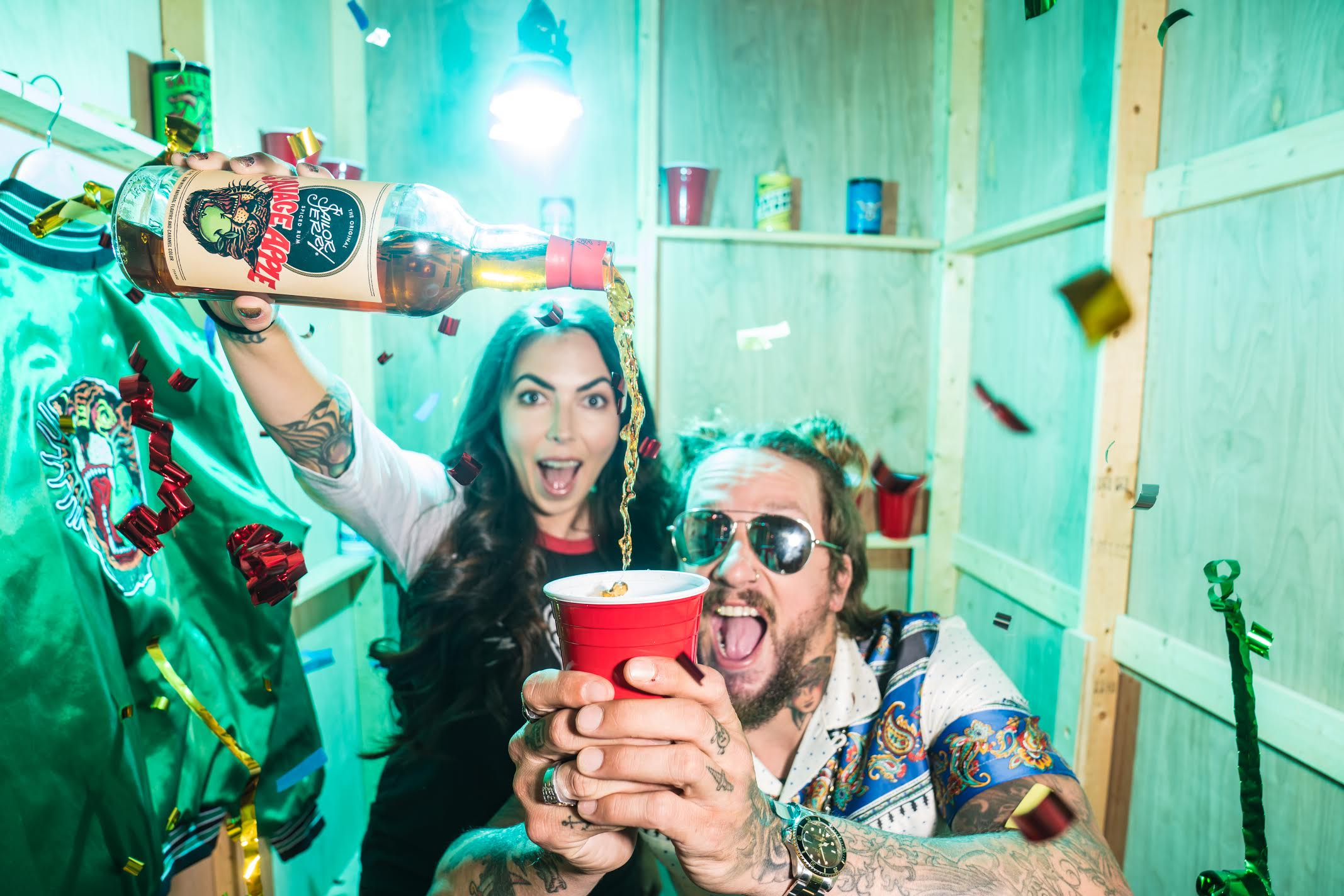 Yes Please! Sailor Jerry Spiced Rum Launches ?savage Apple? photo
