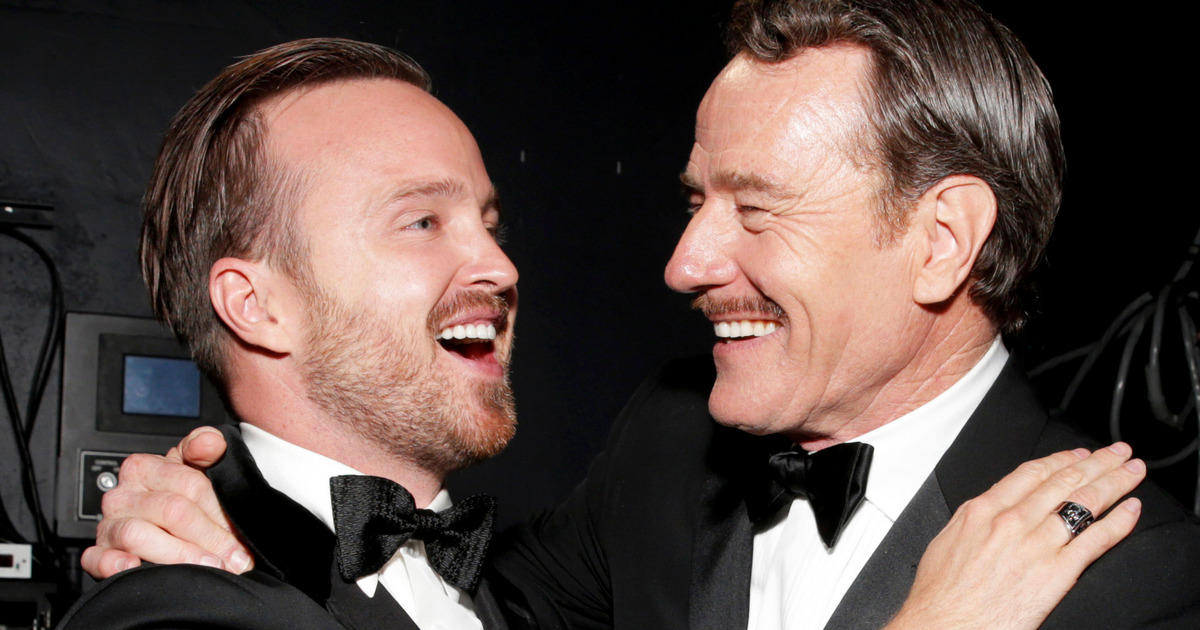 Aaron Paul And Bryan Cranston?s Secret Project Is ? Tequila? photo