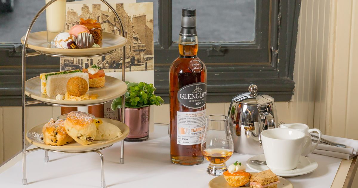 This Restaurant Is Serving Up A Whisky-inspired Afternoon Tea Next To The Castle photo