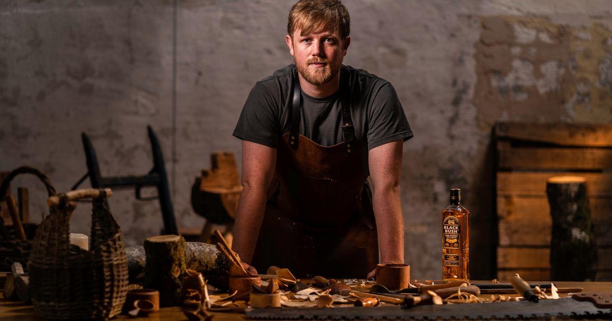 Bushmills Black Bush Collaborates With Irish Woodworker photo