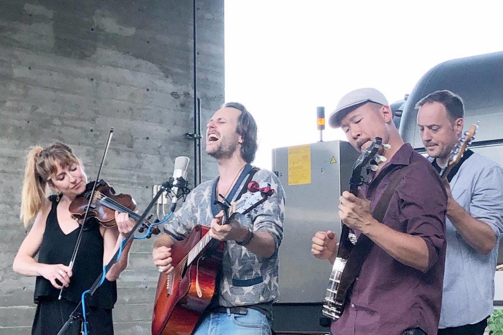 Bands Perform At Outdoor Concert Series In Summerland photo