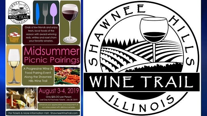 Shawnee Hills Wine Trail's Midsummer Picnic Pairings photo