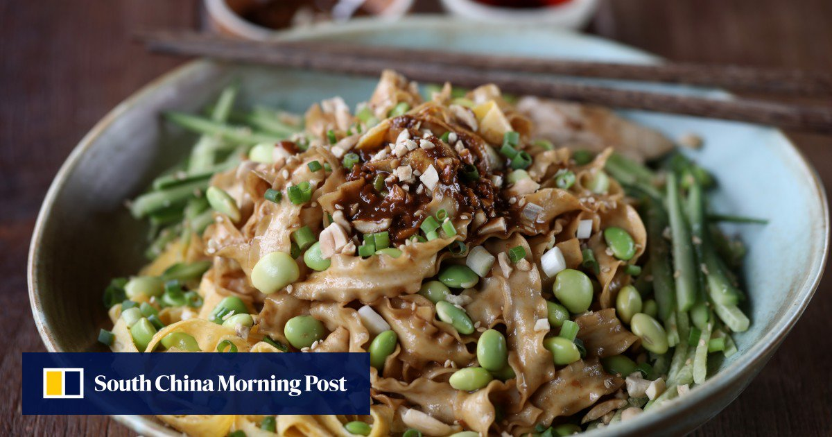 How To Make Sichuan Cold Noodles ? A Protein-rich Vegetarian Dish That?s Easy To Prepare photo