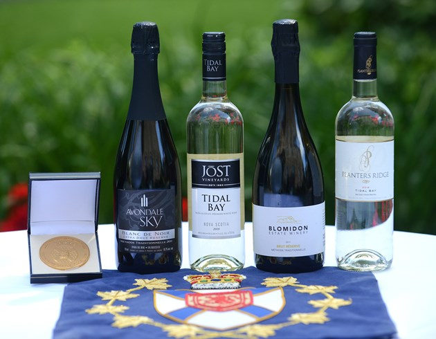 Four Wines Receive Lieutenant Governor's Award For Excellence In Nova Scotia Wines photo