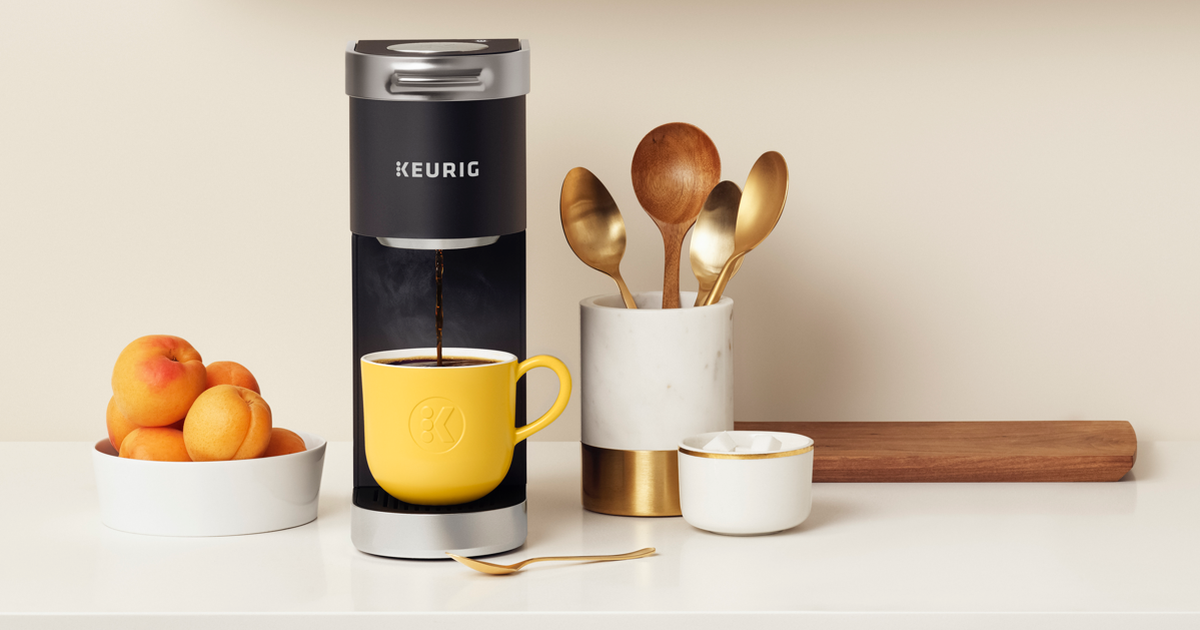 Keurig K-mini Plus Single Serve Coffee Maker Is $30 Off For Prime Day photo