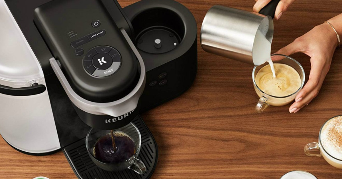 This Keurig K-cafe Coffee And Espresso Maker Is $80 Off For Prime Day photo