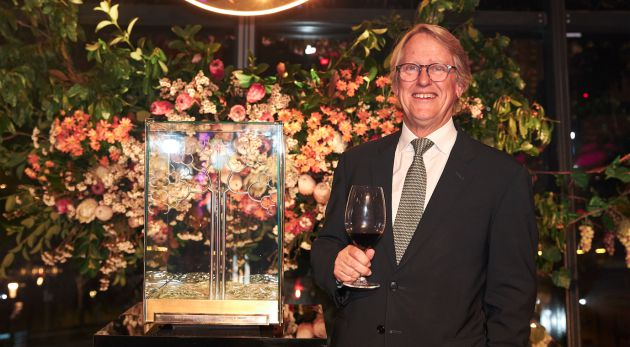 Yalumba?s Hill-smith Receives Prestigious Maurice O?shea Award photo