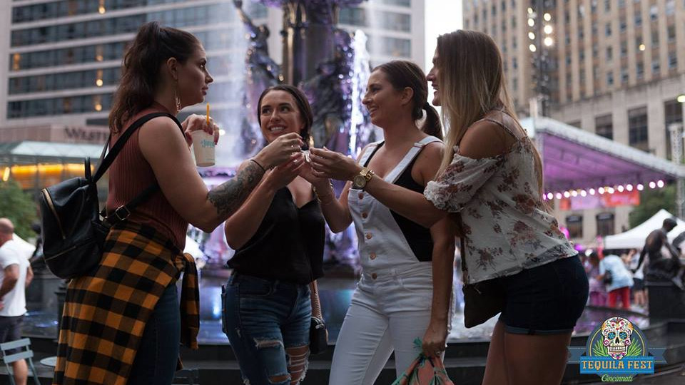 Sample From 50 Different Tequilas During Tequila Fest On Fountain Square photo