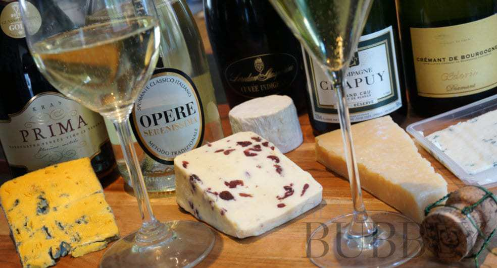 Pair Cheese With Sparkling Wine photo