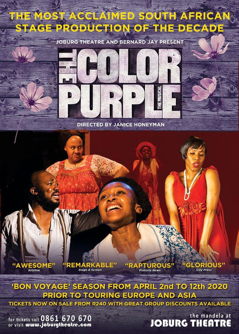 Sa's The Color Purple Gets It Cast For The 2020 Season! photo
