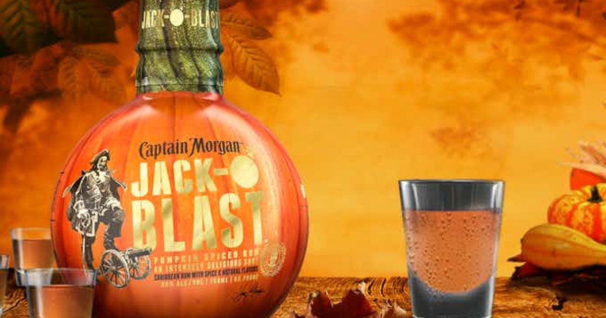 Captain Morgan's Pumpkin Spice Rum Will Have You Feeling Ready For Fall Weather photo