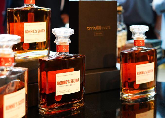 Ronnie Scott?s Launches Anniversary Whisky photo