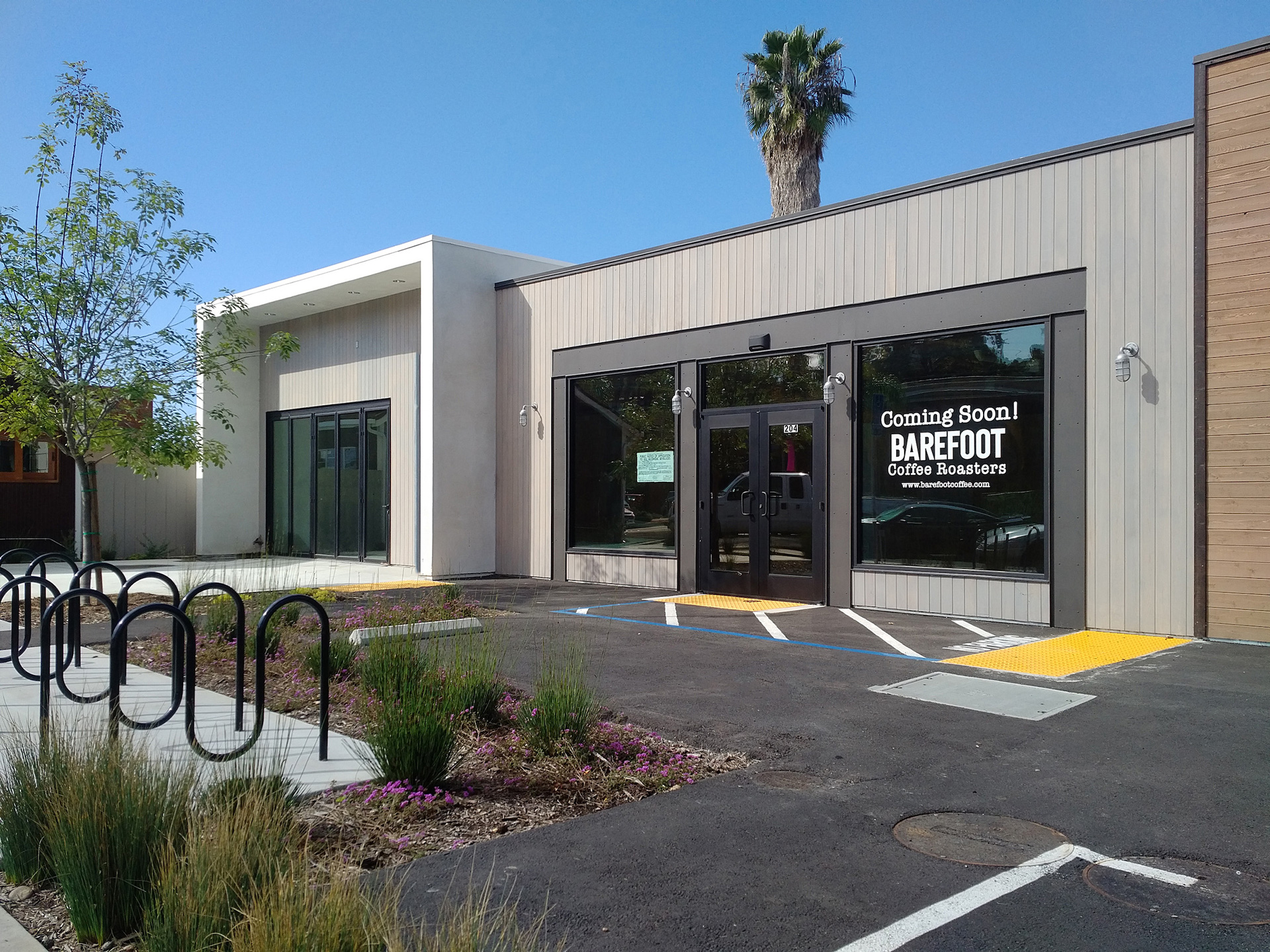 Build-outs Of Summer: Barefoot Coffee Roasters In Solana Beach, Ca photo