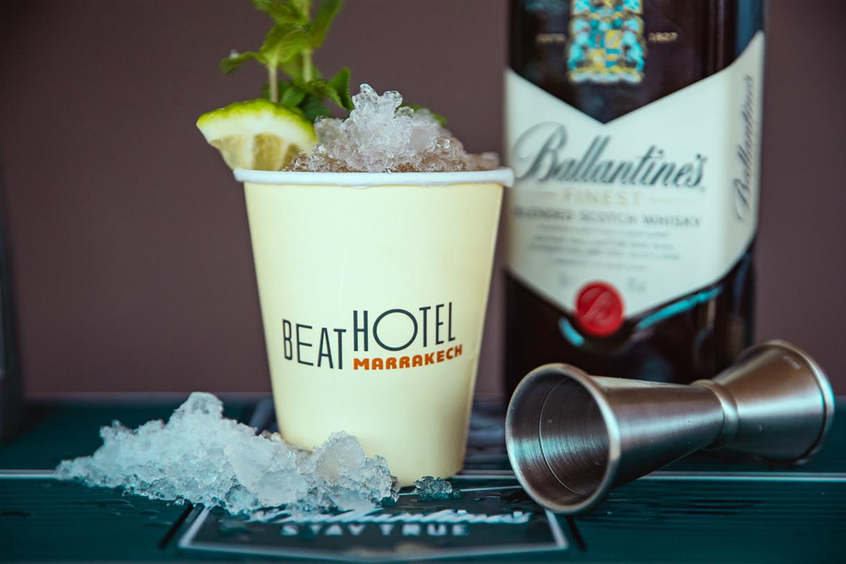 Ballantine's Goes On Marrakech Adventure With Beat Hotel photo