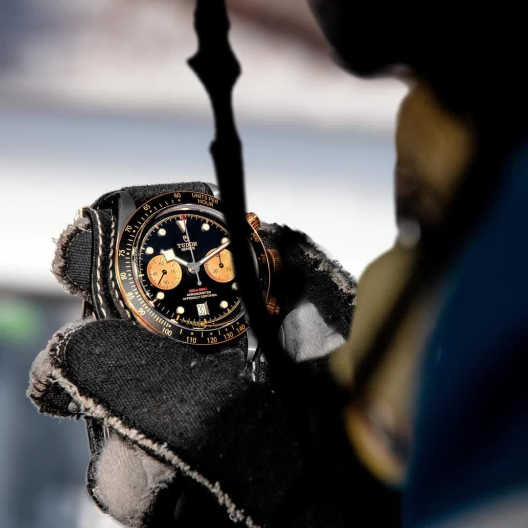 Black Bay Chrono S&g ? A Purist?s Chronograph In Steel And Gold photo