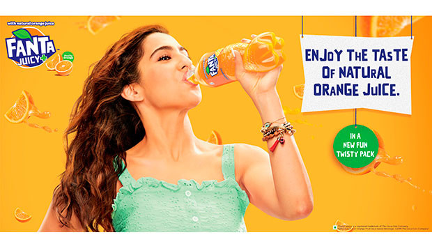 Coca-cola India Introduces Fanta Juicy+, Chooses Sara Ali Khan As New Brand Ambassador photo